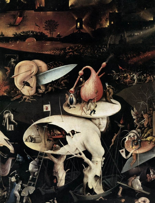 Triptych of Garden of Earthly Delights byHieronymous Bosch