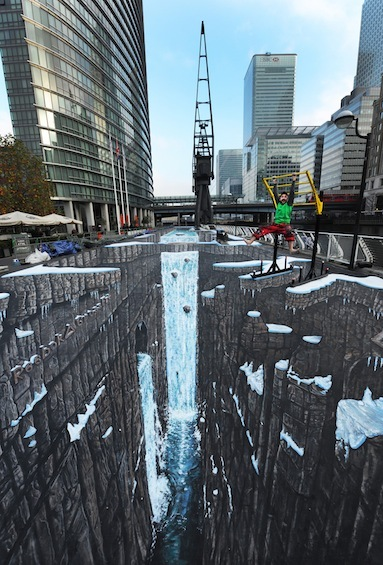 Guinness World Record for the longest and largest piece of 3D street by 3D Joe and Max