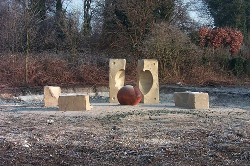 Breaking the Mould, by sculptor Andrew Mckeown
