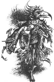 Tash, illustration by Pauline Baynes