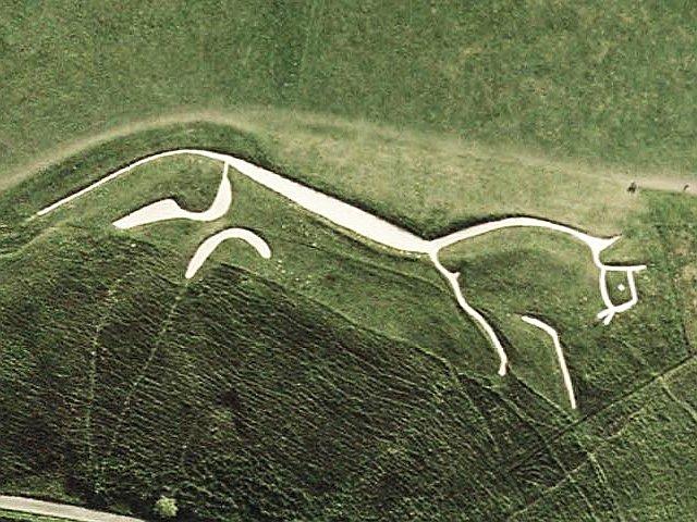 The White Horse of Uffington