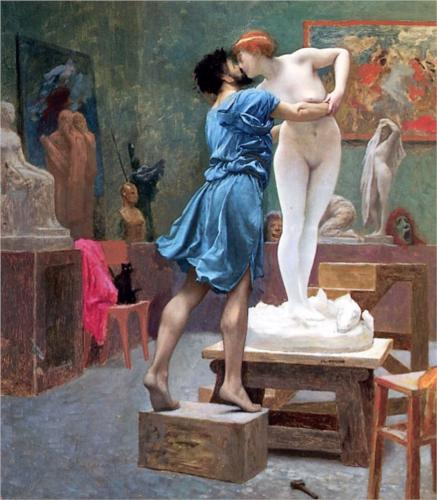 Pygmalion and Galatea by Jean-Leon Gerome 1890