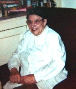 Mary Elizabeth Hannah, my great-grandmother.