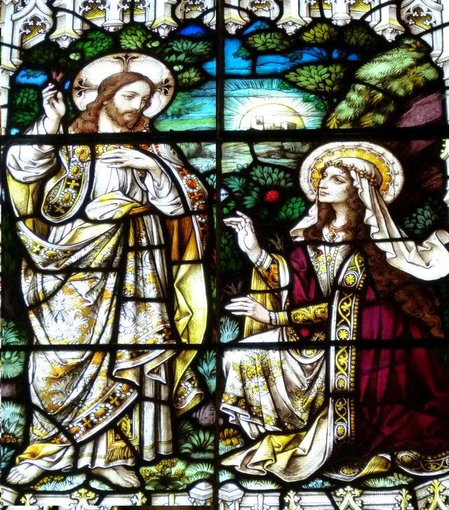 Magdalene window, St John the Baptist, Glastonbury