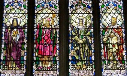 Window, North Transept, Glastonbury
