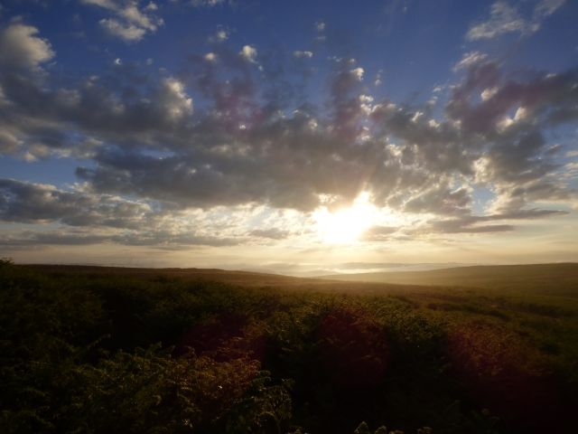 Sunrise on the moors