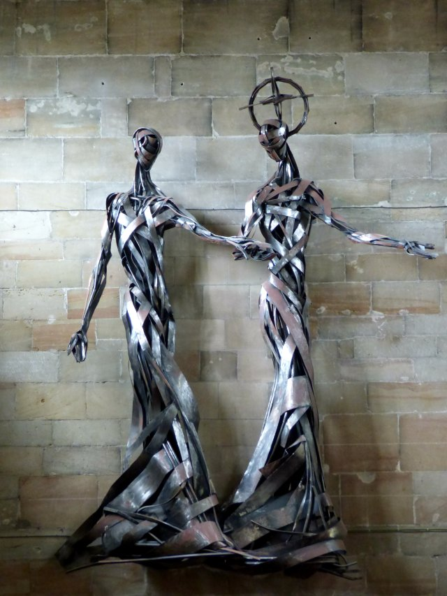 sculpture, abbots bromley