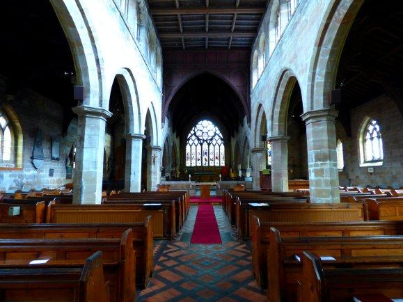 St Nicholas' church, Abbots Bromley