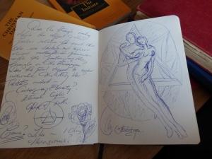 I scribble a lot...