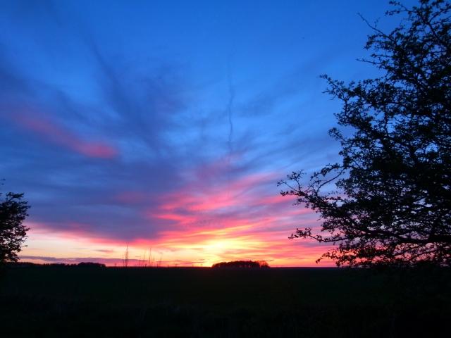 Sunset, Wayland's Smithy