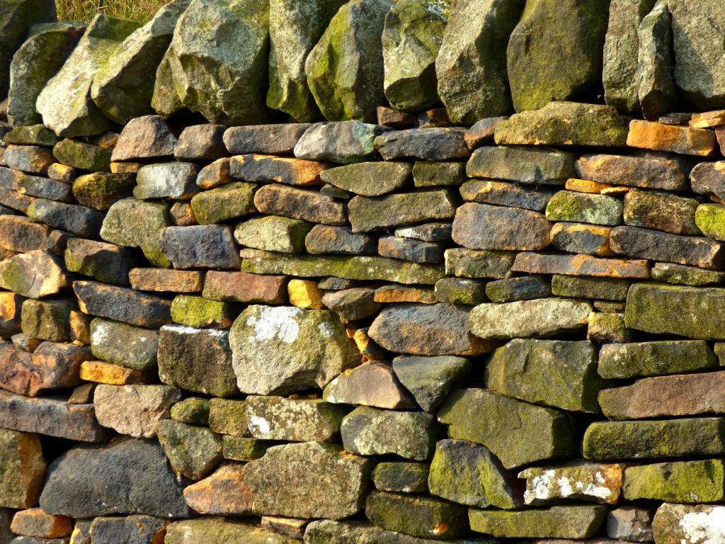 dry stone wall curbar