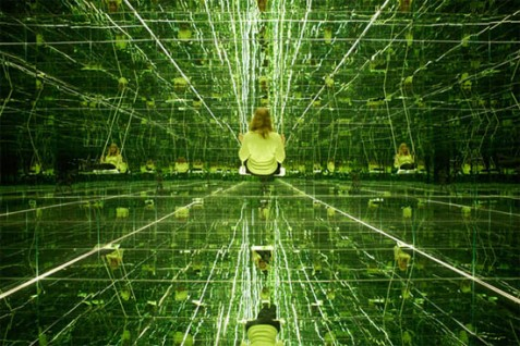 Thilo Frank's Mirrored Room. Image google search, source unknown... appropriately