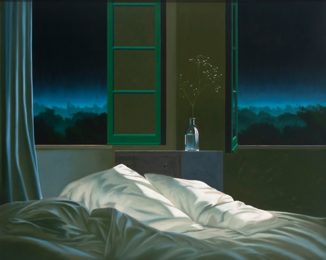 Unmade bed by Bruce Cohen
