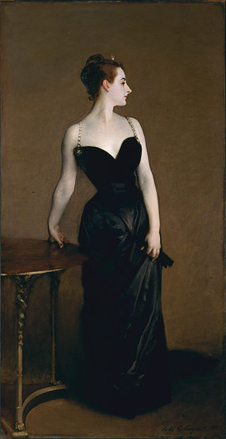 Portrait of Madame X, John Singer Sargent 1883/4