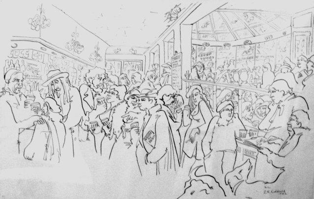 Au Clairon des Chasseurs, Paris. Thomas Coffield 1981