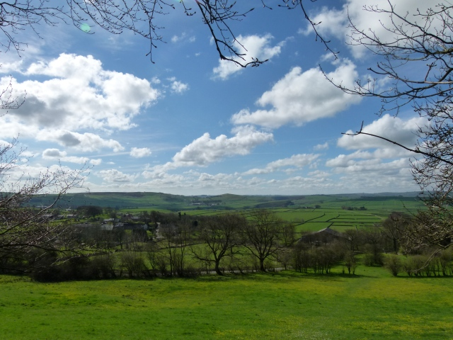 Great Hucklow and the Derbyshire hills