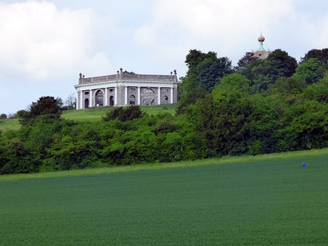 Dashwood Mausoleum and Golden Ball