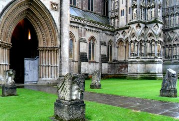 Four Holy Creatures, Wells Cathedral