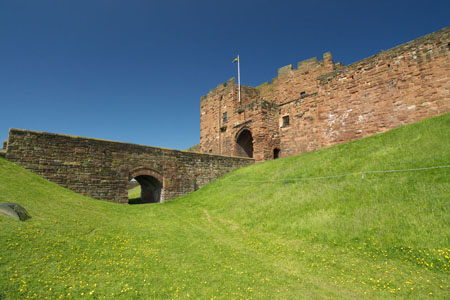 Carlisle Castle. Image: www.edgeguide.co.uk