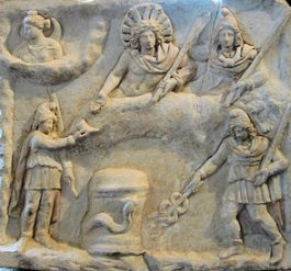 Mithras. Image source: Wkipedia