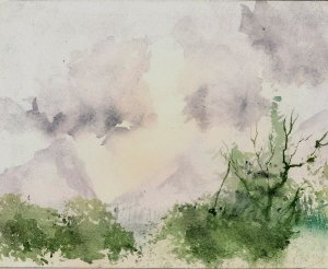 Watercolour by Nick, 2010