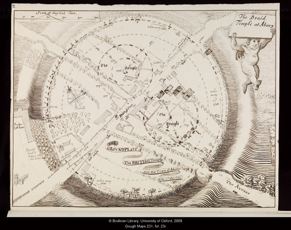 Stukeley's plan of Avebury