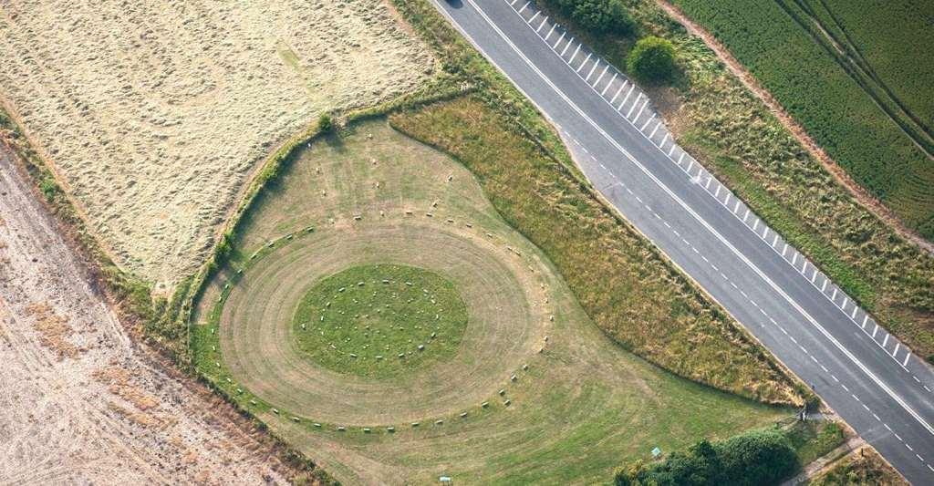 Aerial view. Image: www.english-heritage.org.uk