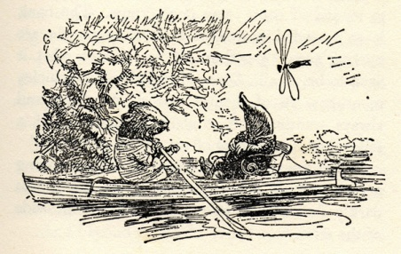 The Wind in the Willows by Kenneth Grahame: Illustrations by EH Shepard