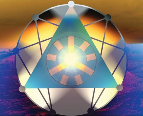Magical enneagram copyright The Silent Eye