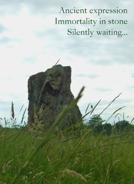 Ancient expression Immortality in stone Silently waiting
