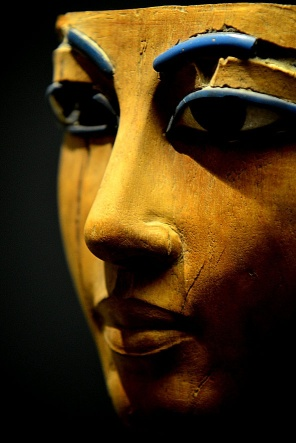 18th Dynasty funerary mask, Louvre