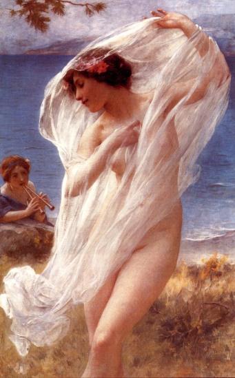 Lenoir,_Charles-Amable_-_A_Dance_By_The_Sea