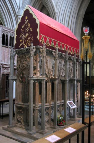 Shrine of St Alban, St Albans Cathedral. Image by Michael Reeve.