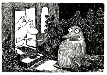 The Groke by Tove Jansson