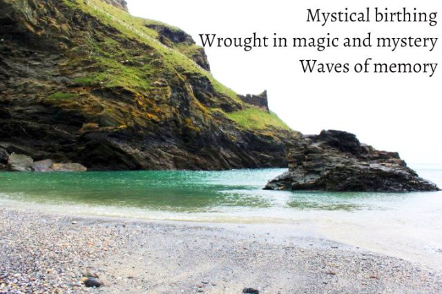Mystical birthing Wrought in magic and mystery Waves of memory