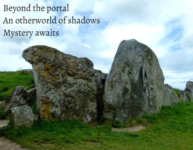 Beyond the portal An otherworld of shadows Mystery awaits