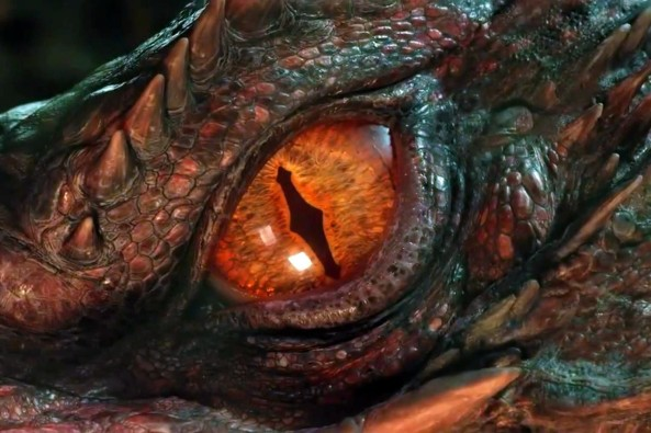 The desolation of Smaug. Images © Warner Bros. Pictures, Weta Digital.