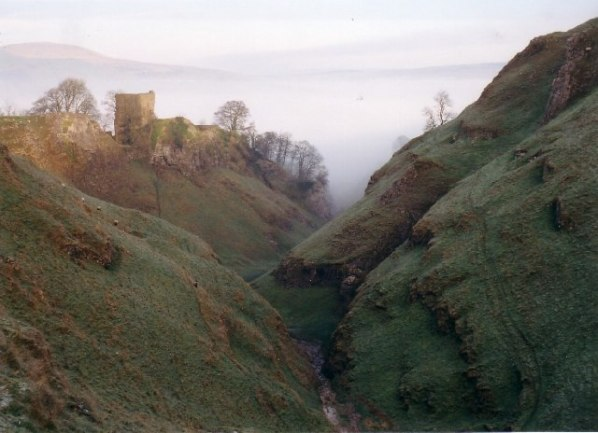 Castle in the mists