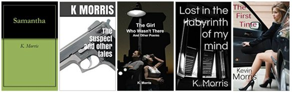 book covers Kevin Morris
