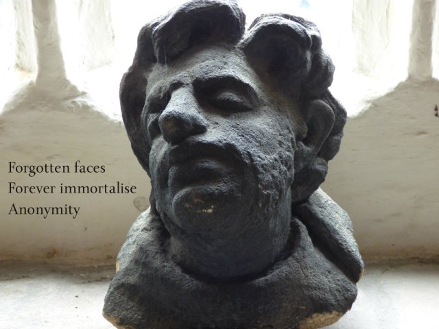 image of statue -forgotten-faces-forever-immortalise-anonymity
