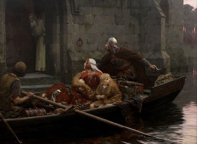 800px-Edmund_Blair_Leighton_-_In_Time_of_Peril_-_Google_Art_Project