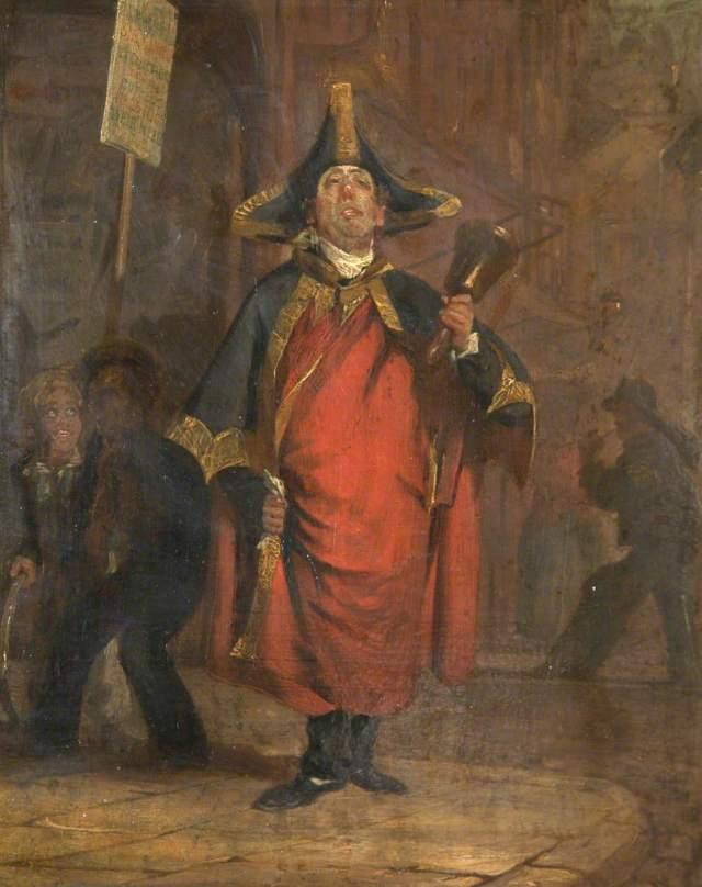 Hainsselin, Henry, 1815-1886; Last Town Crier of Devonport