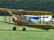 Taking control of a Tiger Moth