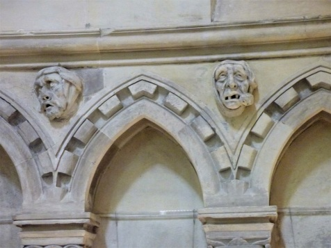 The Temple Church II: Talking heads… | Sue Vincent's Daily Echo